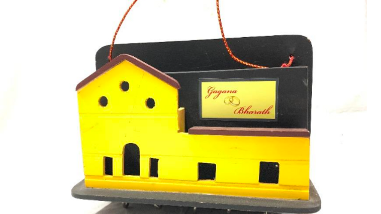 Channapatna House Key Hanger