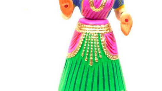 Wooden Dancing doll (Large) Model 2