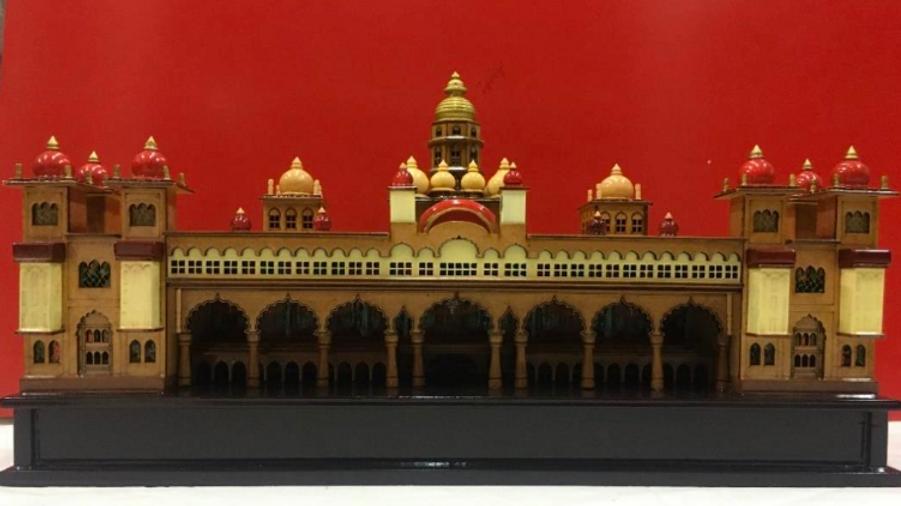 Wooden Mysore Palace (Medium)