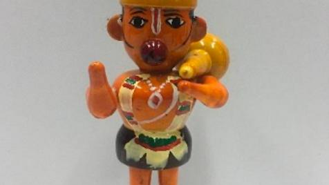 Wooden Hanuman Model 2 (Small)
