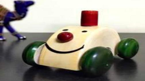 Wooden Joker car