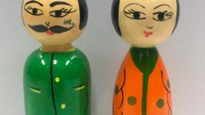 Wooden Couple (Model 4)