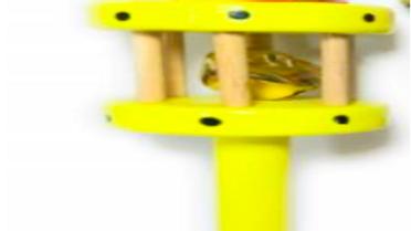 Wooden Joker rattler
