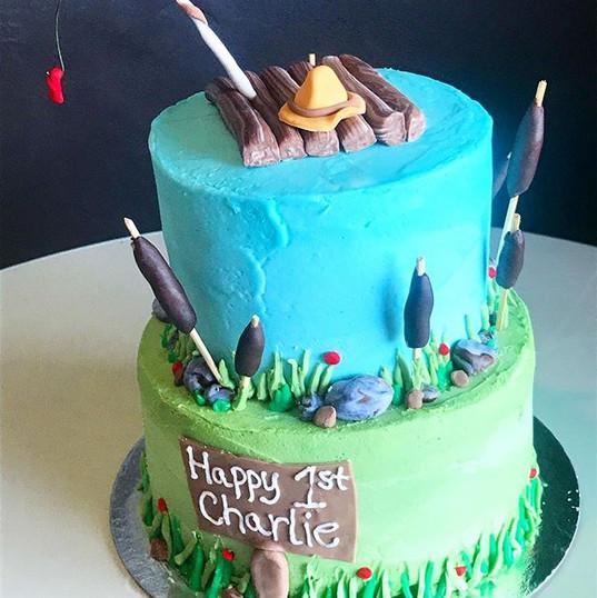 Huckleberry Finn inspired 1st birthday c