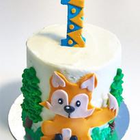 🦊 Foxy cake 🦊🌲🌳🌲🌳🌲🌳🌲🌳_•_•_•_•_