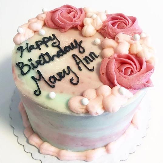 Pretty little birthday cake 🎂 •_•_•_•_•