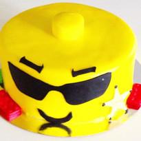 Lego Sheriff head cake 😊love making cak