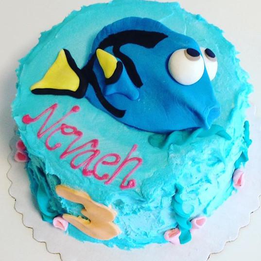 Dory cake_________🐠__________ #dory #do