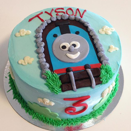 Thomas the train cake #thomasthetrain #c