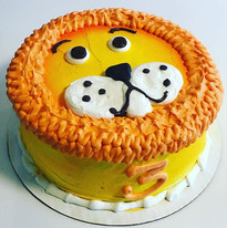 Lion 🦁 cake for a 3rd birthday 🎈 •_•_•