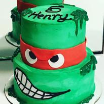 Teenage mutant ninja turtles cake 🐢#got