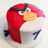 Angry birds cake #angrybirds #angrybirdc