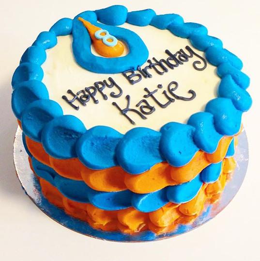 An Oilers birthday cake •_•_#hockeycake