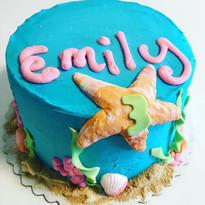 Under the sea cake for little Emily 🐠🐳
