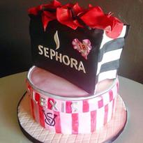 Sephora and Victoria Secret cake #sephor