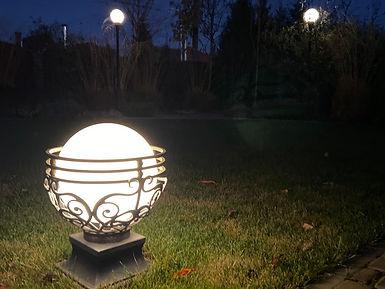 освещение в саду фото 5
