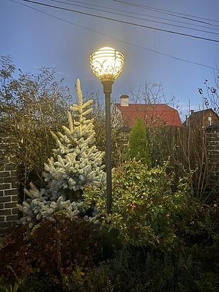 освещение в саду фото 123