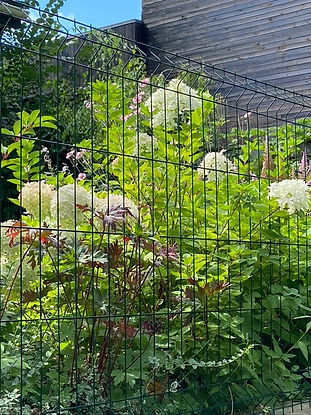 габионы в ландшафтном дизайне в саду на фото 16442