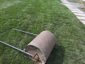 Изображение катка для устройства рулонного газона в Киеве