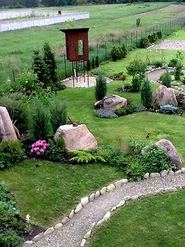 Фотография Ландшафтного дизайна на объекте в Киевской области рядом с лугом