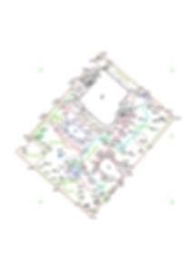 Пример одного из частей ландшафтного проекта - топосьемки. Данная топосьемкапроводилась на одном из учстков в Киеве со сложным рельефом