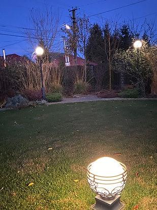 освещение в саду фото 232