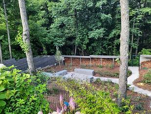 габионы в ландшафтном дизайне в саду на фото 190