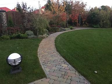 Освещение в саду фото 1