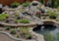Фото маленькой альпийской горки с водопадом горка с