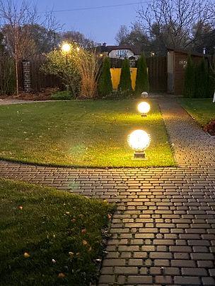 освещение в саду фото 11