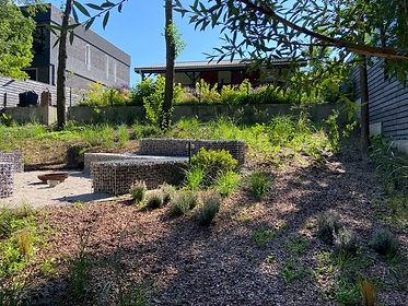 габионы в ландшафтном дизайне в саду на фото 1331