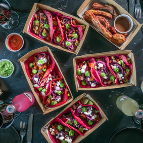 Moderne tacos levert hjem, OsloTaco