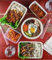 Autentisk koreansk mat, Kimchi Oslo Street Food