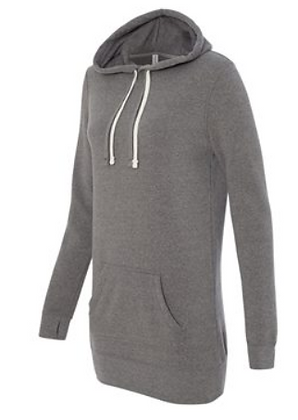 Independent Trading Co. Women's Special Blend Hooded Sweatshirt Dress