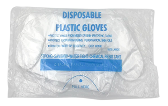 CPP-5975 Disposable Plastic Gloves
