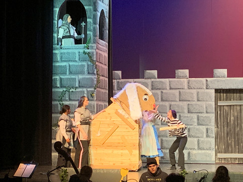 Trojan Rabbit - SPAMALOT