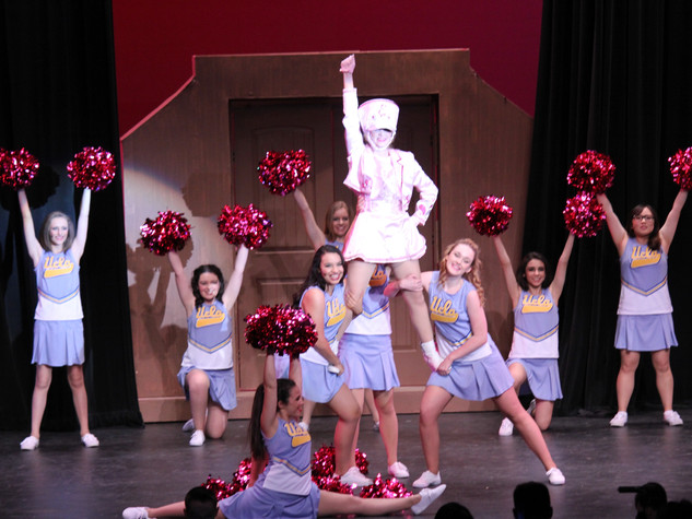 Legally Blonde Harvard Cheer