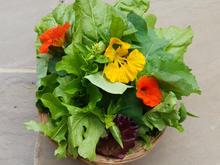 Summer salad bouquet