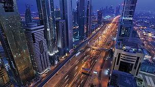 Sheikh-Zayed-Road-Dubai-United-Arab-Emir