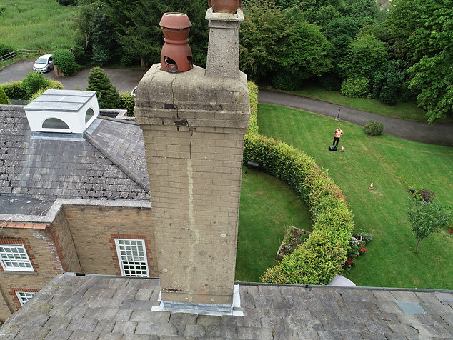 Roof inspection by drone