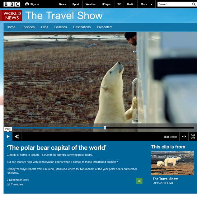 Simon Gee on the BBC