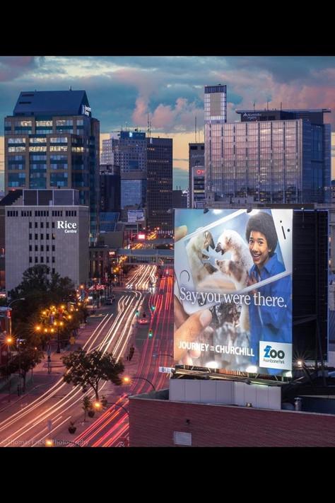 Commercial billboard