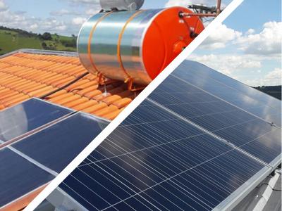 Energia Solar Fotovoltaica X Aquecedor Solar