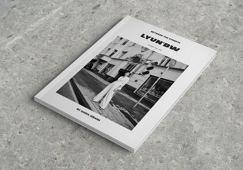 cover for @lyun.magazine