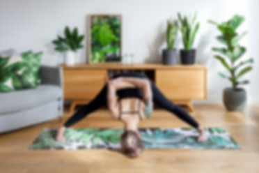 Green up your yoga practice - one breath at a time
