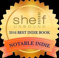 Shelf Unbound 2016 Notable 100 badge
