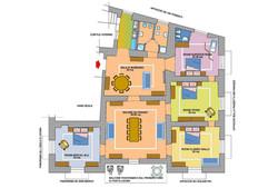 Planimetria delle Residenza