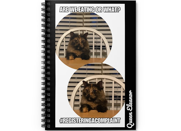 are we eating or what? | Spiral Notebook - Ruled Line