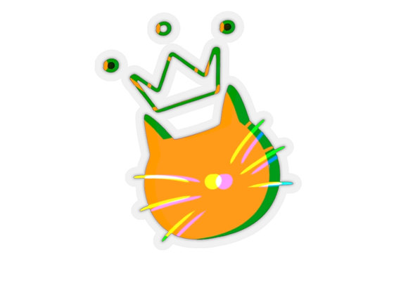 queen eleanor   Kiss-Cut Stickers