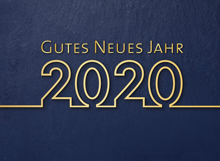 Hallo 2020!